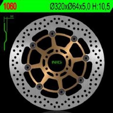 Brzdový kotouč přední KTM 640-1190 (03-15)
