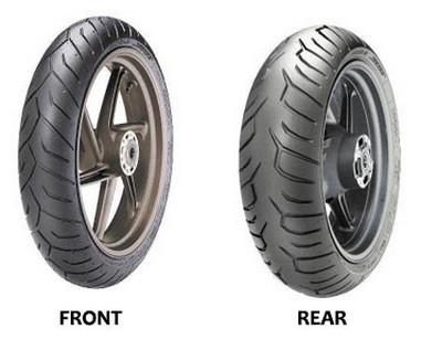 Sada pneumatik Pirelli Diablo Strada 120/70 58W + 160/60 69W...