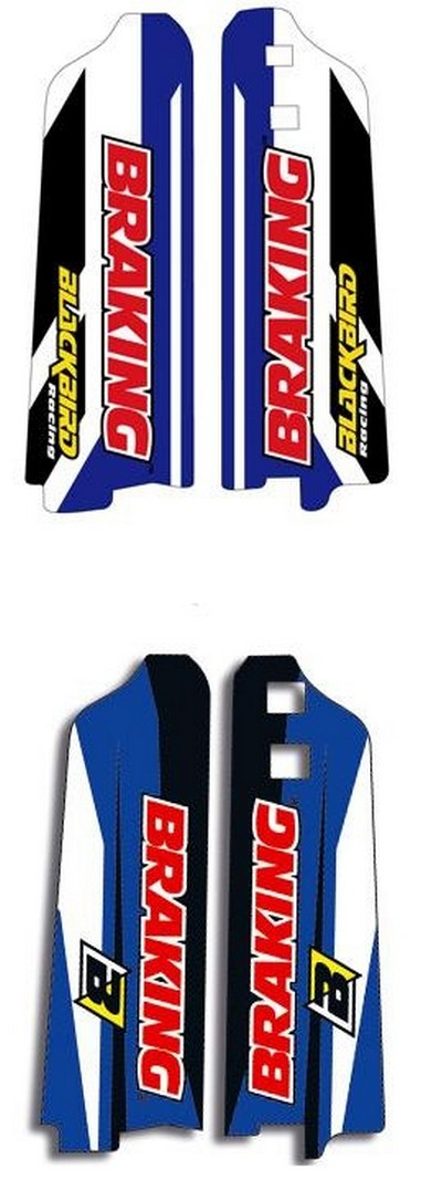 Polepy krytu tlumičů Yamaha YZ/WR/F (96-04)