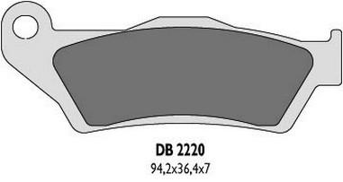 Brzdové desky přední KTM 125-640 (92-14)