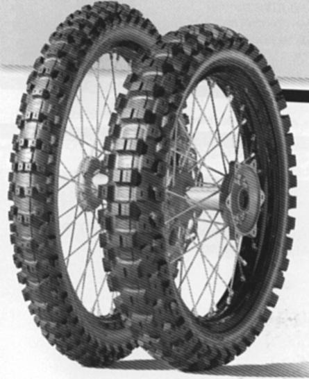 Pneumatika 100/90-19 57M TT GEOMAX MX3S