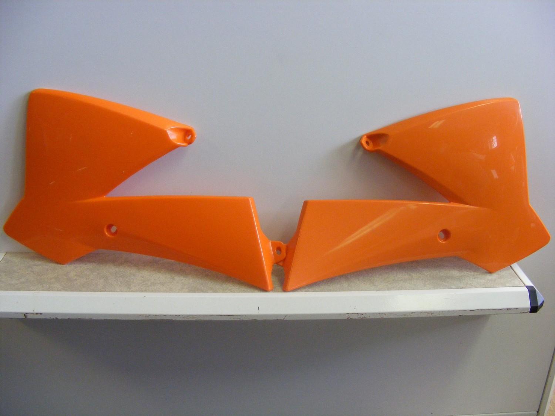 Spojlery chladičů KTM 65 SX (02-08)