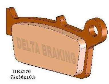 Brzdové desky zadní Yamaha 125-426 (98-04)