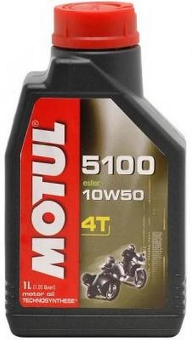 MOTUL 5100 ESTER 10W50 4T 1L