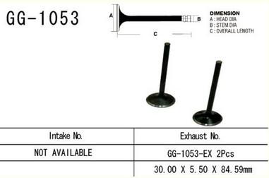 Ventil výfukový HONDA CRF 450R/X (05-09)