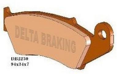 Brzdové desky přední Honda 125-700 (91-15)