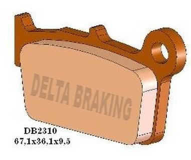 Brzdové desky zadní GAS GAS 125-450 (09-14)