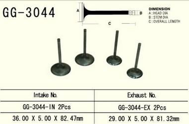 Ventil výfukový SUZUKI DRZ 400 (00-09), LTZ 400 (03-09)