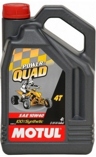 Motul POWER QUAD 4T 10W-40 4L