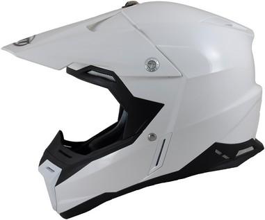 Přilba MT Helmets Synchrony Solid bílý lesk