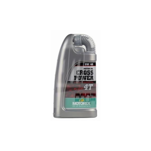 MOTOREX CROSS POWER 4T 5W/40 1L