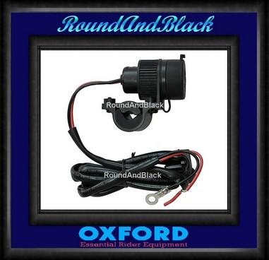 Zásuvka na moto 12V USB Oxford