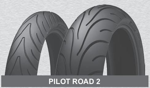 Pneu 150/70 ZR 17 M/C (69W) PILOT ROAD 2 TL