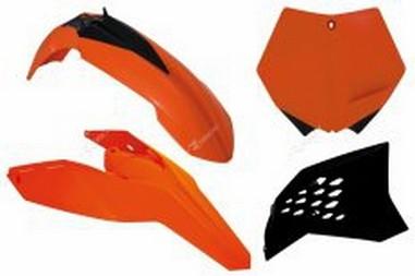 Sada plastů KTM SX/SXF 125-505 (07-10), EXC 125-530 (08-11)
