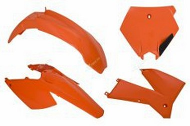 Sada plastů KTM SX/SXF 125-525 (05-06) EXC/EXCF 125-525 (05-07)