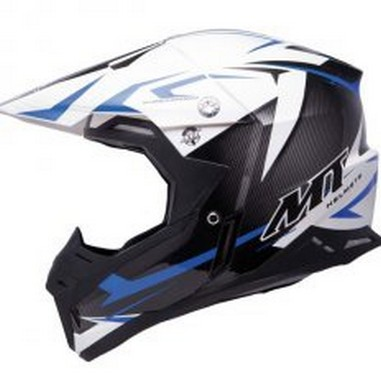 Přilba MT Helmets Synchrony Steel modrá/černá