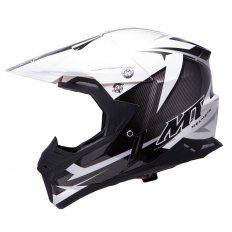 Přilba MT Helmets Synchrony Steel černá/bílá