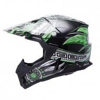 Přilba MT Helmets Synchrony Native černá/zelená