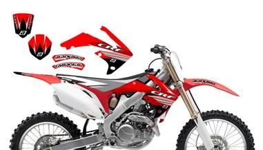 Polepy Honda CRF 450 (09-10)