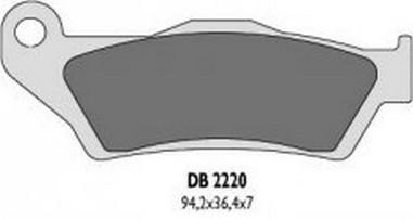 Brzdové desky přední Husqvarna 125-630 (93-15)