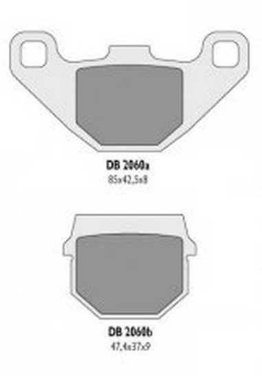 Brzdové desky Suzuki RM 80/85 (86-04)