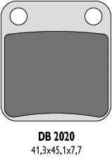 Brzdové desky zadní Kawasaki KX/KLX 80-140 (88-13)