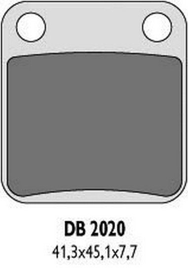 Brzdové desky Yamaha YFM/Z 200-660 (87-12)