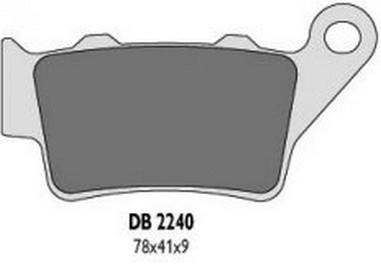 Brzdové desky zadní BMW 125-1000 (93-14)