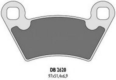 Brzdové desky Polaris 400-1500 (03-14)