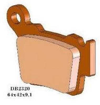 Brzdové desky zadní Husqvarna 125-530 (05-15)