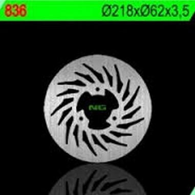 Brzdový kotouč zadní YAMAHA XT/DT 125/50 (03-09)