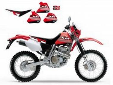 Polepy+potah sedla Honda XR 250/350 (88-95)