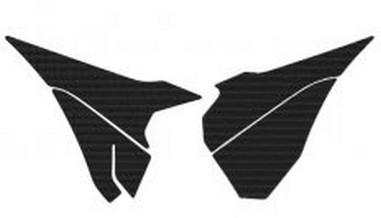 Polepy krytu filtru Kawasaki KXF 250/450 (04-09)