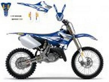 Polepy+potah sedla Yamaha YZ 125/250 (02-14)