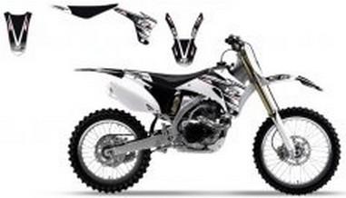 Polepy+potah sedla Yamaha YZF 250/450 (06-09)