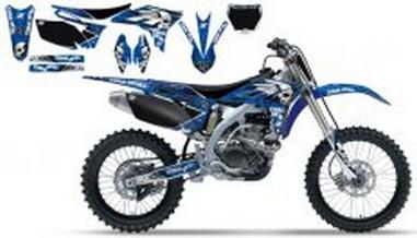 Polepy+potah sedla Yamaha YZF 250 (10-11)