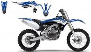 Polepy+potah sedla Yamaha YZF 450 (10-11)