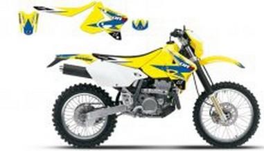 Polepy+potah sedla Suzuki DRZ 400 (00-10)