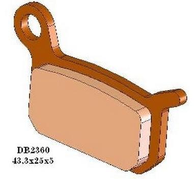 Brzdové desky KTM 50/65 SX (02-14)