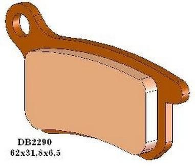 Brzdové desky zadní Husqvarna CR 65 (11-13)