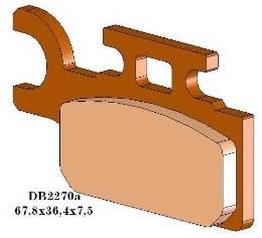 Brzdové desky přední Suzuki RM 65 (03-05)