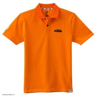 Tričko KTM RACING POLO ORANGE