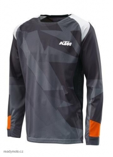 Dres KTM GRAVITY-FX SHIRT BLACK