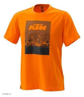 Tričko KTM RADICAL TEE ORANGE
